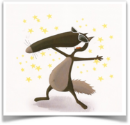 Le loup - Les fiches de mois