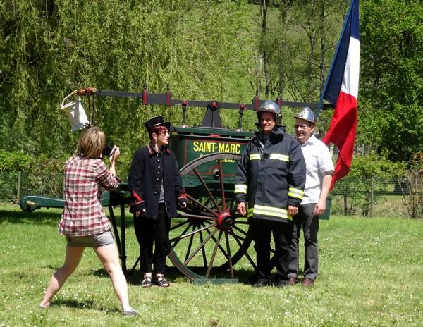 Les pompiers de 1892 à nos jours à Saint Marc sur Seine