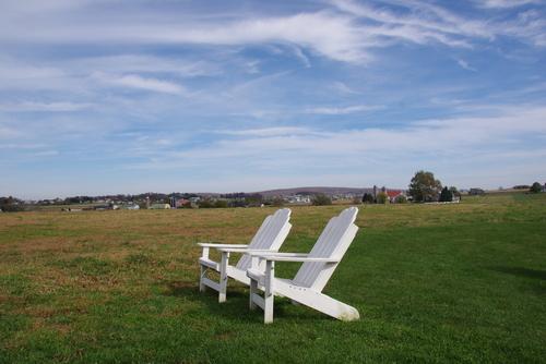 L'automne en Pennsylvanie