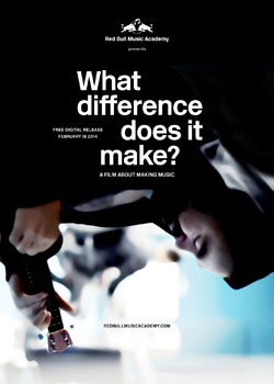 RED BULL MUSIC ACADEMY : What difference does it make ? // Découvrez le poster et la bande-annonce !