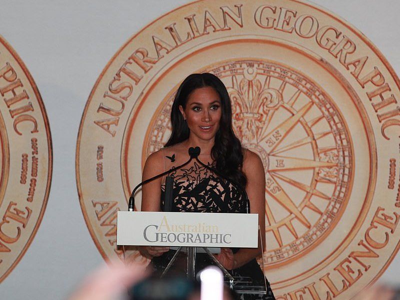 Geographic Society gala awards