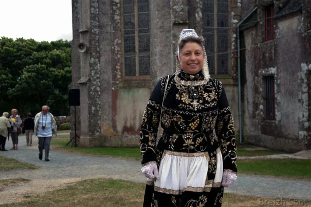 costume breton féminin - Plonevez-Porzay