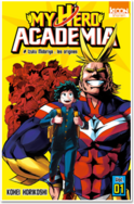 My hero academia tome 1- Izuku Midoriya: les origines