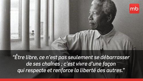 Chant en l'honneur de Mandela