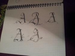 ♥ les 2 A fusionnés ♥