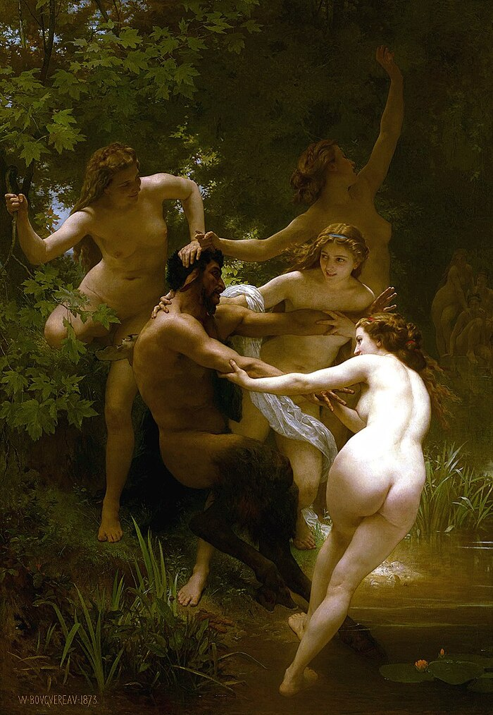 """2-Bouguereau / un """" classique"""" du 19ème"""