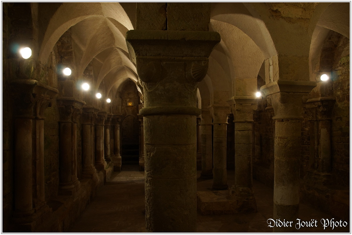 (85) Vendée - Les Essarts (4) - Crypte du XII°