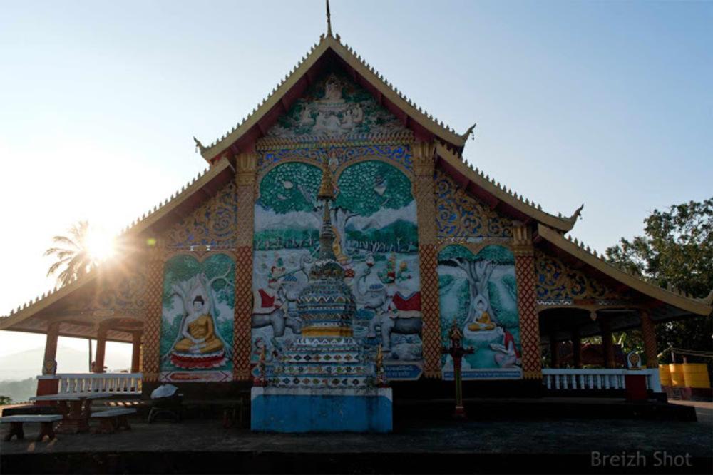vat Jom Khao Manilat - Fresques