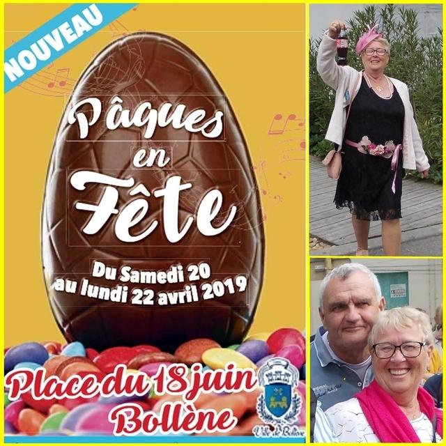 Pâques à Bollène 2019