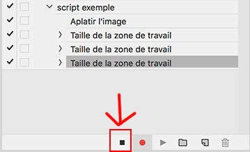 Créer des Scripts ou Actions Photoshop CC ou CS