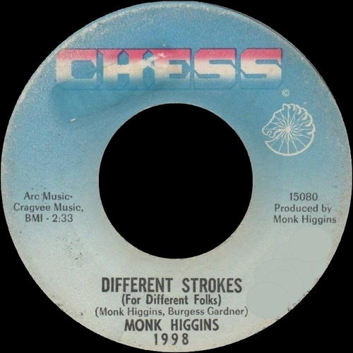 "Monk Higgins : Album "" Mac Arthur Park "" Dunhill ‎Records DS-50036 [ US ]"