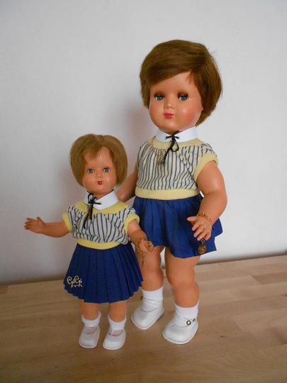 Série les petites filles de france (habillage 3)