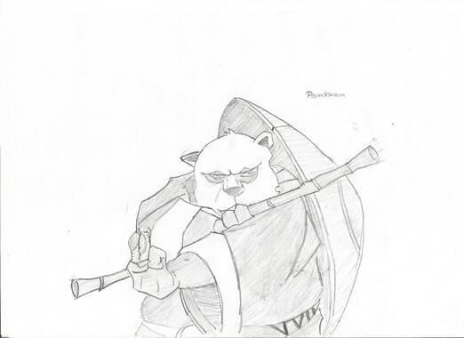 Pandaren Moine