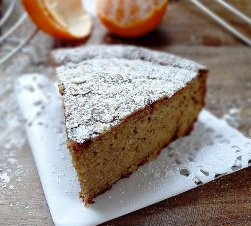 Recette de cuisine : Gâteau aux clémentines et farine de châtaigne