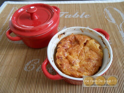 Petits flans jambon - chorizo