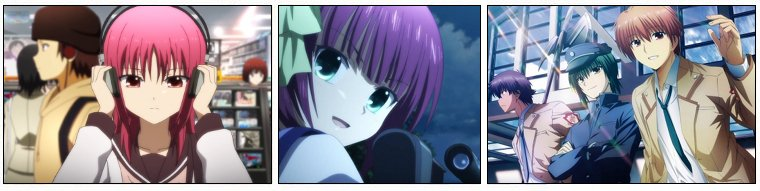 Animation Japonaise ❖  Angel Beats!