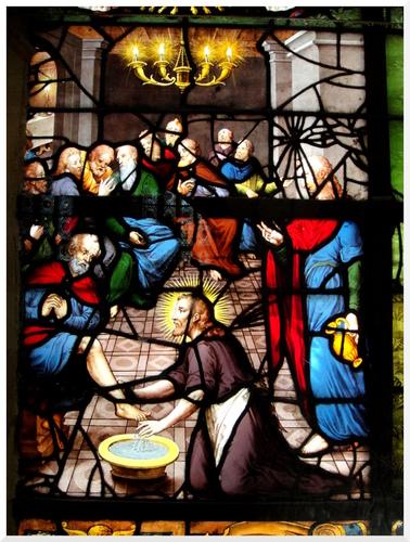 Vitraux à l'Eglise Sain-Etienne-du-Mont
