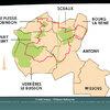 Plan général pour un circuit de randonnée culturellle (Offices de tourisme de la communauté d'ag