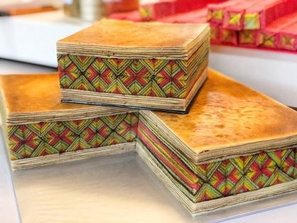 La géométrie fascinante des gâteaux malaisiens ...