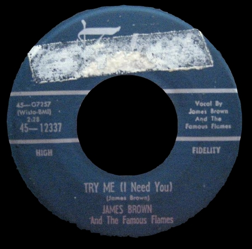 1958 James Brown & The Famous Flames Federal Records 45-12337 [ US ]