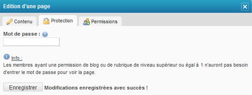 Protéger mon blog