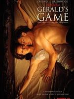 Gerald's Game : Gerald aime pratiquer un petit jeu sexuel pervers : il menotte sa femme Jessie au lit pour lui faire l'amour, ce qu'elle apprécie de moins en moins avec le temps. Un jour, dans leur résidence secondaire, Jessie finit par lui dire qu'elle refuse de continuer le jeu et lui demande de la détacher. Son mari refuse et, voyant qu'il a bien l'intention d'aller jusqu'au bout, Jessie lui envoie deux coups de pieds quand il se trouve à sa portée (un dans le ventre, l'autre dans les parties), geste qui entraîne une crise cardiaque et la mort de Gerald. Jessie se retrouve alors enchaînée, seule, dans une maison isolée en pleine campagne du Maine. ... ----- ...  Origine : américain Réalisation : Mike Flanagan Durée : 1h 43min Acteur(s) : Carla Gugino,Bruce Greenwood,Carel Struycken Genre : Thriller,Drame,Epouvante-horreur Date de sortie : 29 septembre 2017 sur Netflix Année de production : 2017 Distributeur : Netflix France Critiques Spectateurs : 3,0