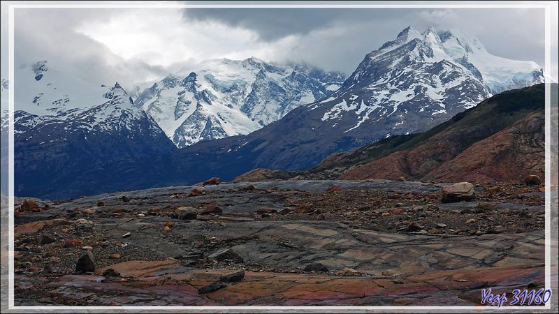 Sur la piste vers le Lago Guillermo - Estancia Cristina - Lago Argentino - Patagonie - Argentine
