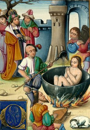 Saint Jean Porte Latine, solennité du martyre de l'apôtre et évangéliste (1er s.)