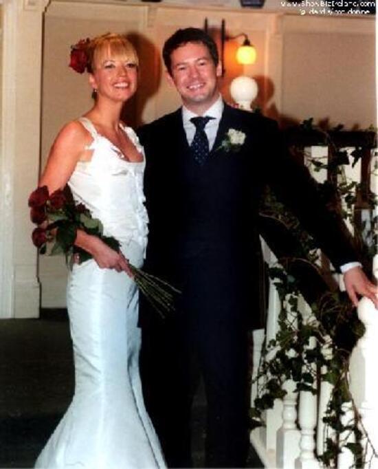 Sara cox ben cyzer wedding dress