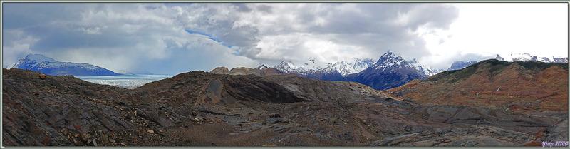 Petite randonnée dans un paysage superbement minéral - Lago Guillermo - Estancia Cristina - Lago Argentino - Patagonie - Argentine