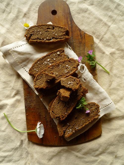 Biscottis au sarrasin et fleur de sel
