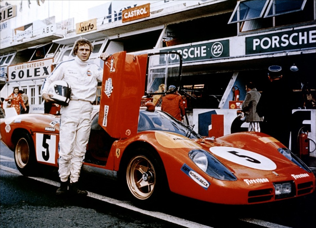 steve mcqueen aux 24 heures du mans paulo8938. Black Bedroom Furniture Sets. Home Design Ideas