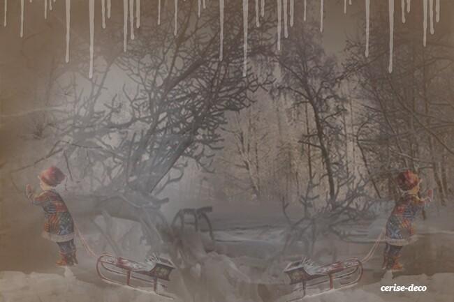 design paysage hivernal