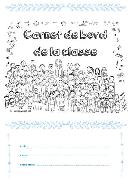Cahier de bord de la classe 2016/2017