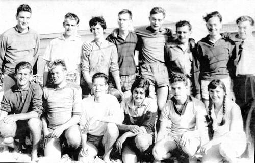 Les Kid pionniers des tournois de volley sur la plage
