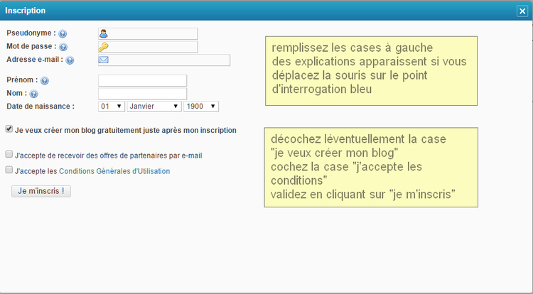 explications sur forum
