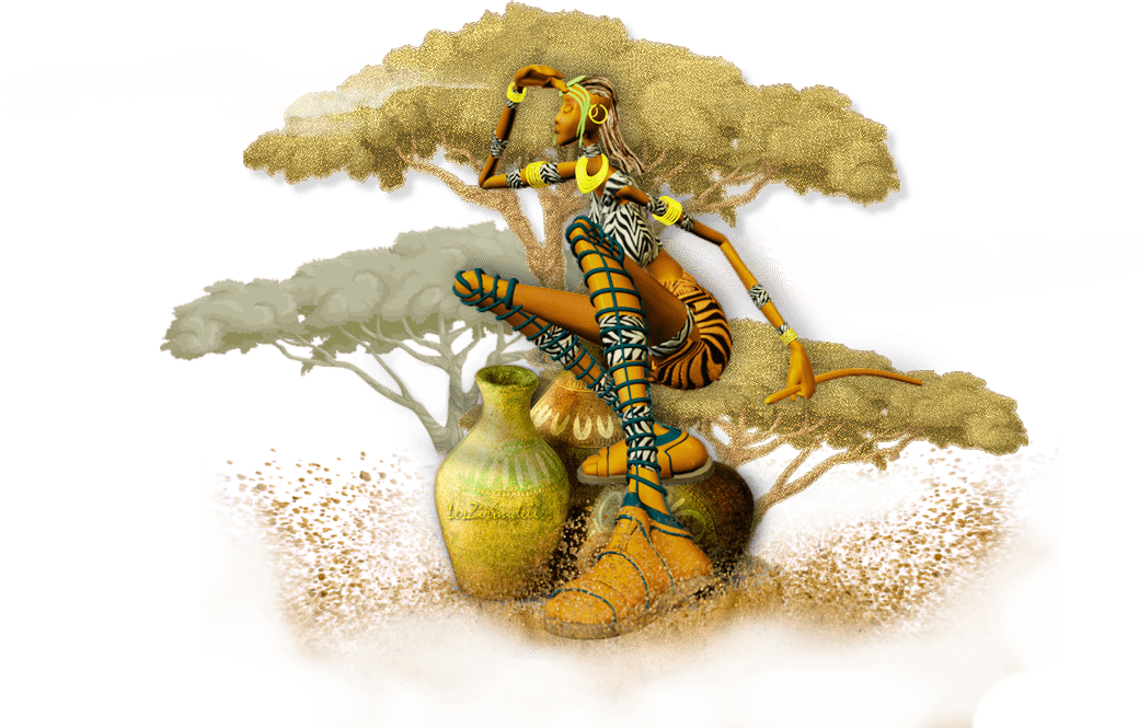 Entêtes , terres de sable (Afrique du sud)