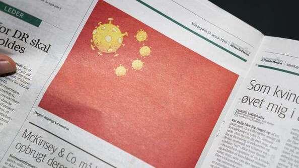 Le drapeau chinois revue et corrigé à l'ère du coronavirus