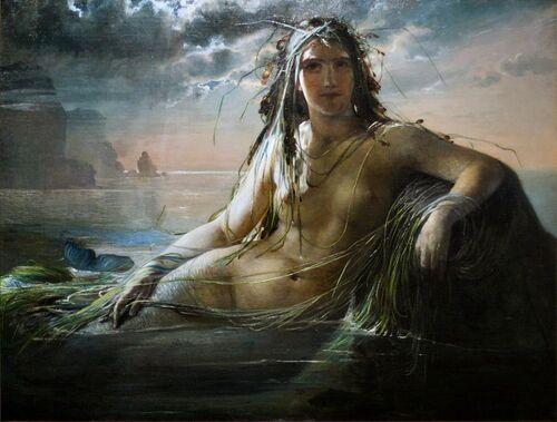 La légende de la ville d'Ys (la reine Dahut)