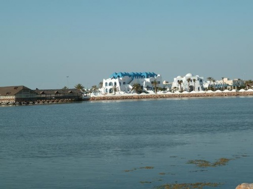 L'hôtel El Malga, ne prend pas hélas ... de touristes Européens .