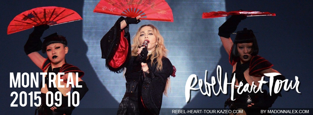 Madonna Rebel Heart Tour Montreal 2 Medias