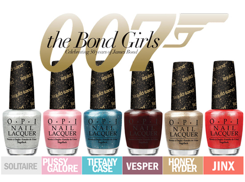 The Bond Girls: collection OPI 100% Liquid Sand