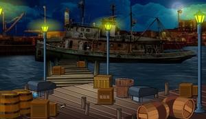 Jouer à ENA A secret plan - The abandoned harbour