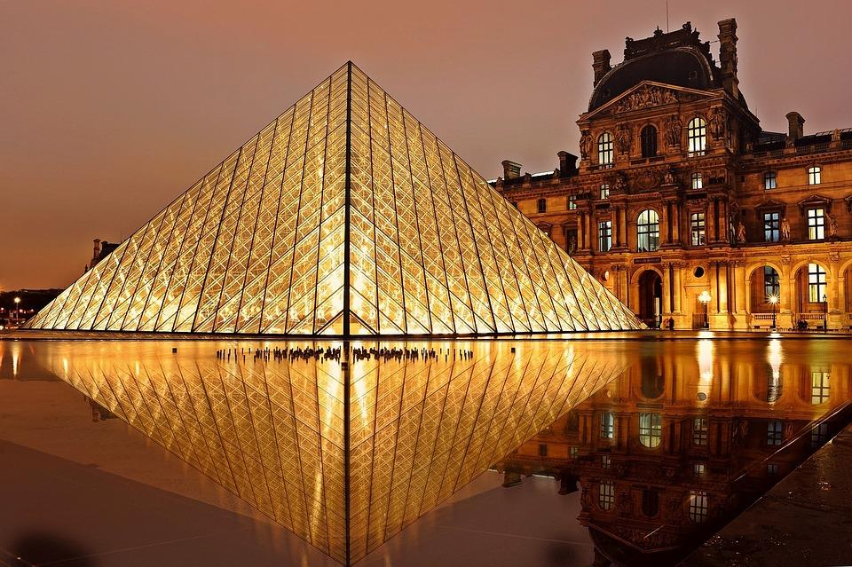 Musée Du Louvre, Pyramide, Paris, Architecture