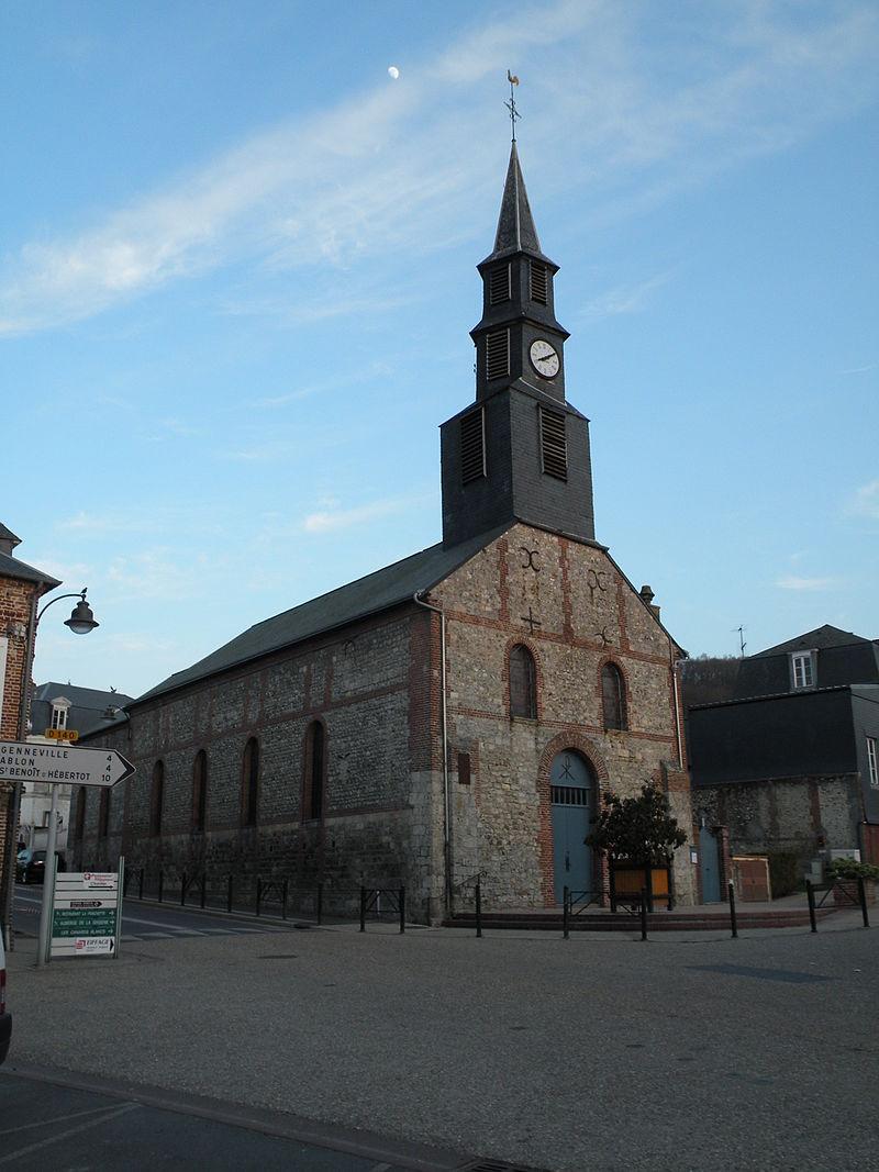 La Rivière-Saint-Sauveur - église 01.JPG