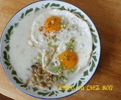 Le 粥 zhōu instantané, la solution petit déj' pour la rentrée?