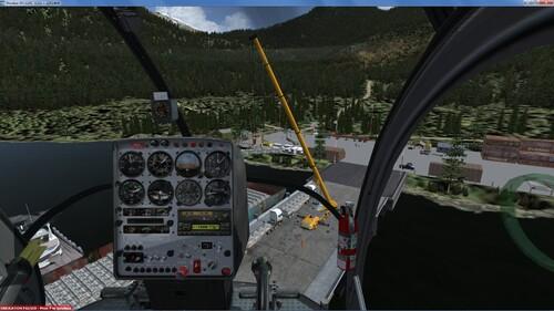 Le Schweizer 300 de Just Flight