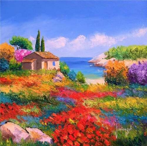 Peinture de : Jean Marc JANIACZYK