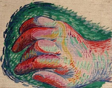 Main par Picasso - art-271-picasso-decouverts-dans-un-garage
