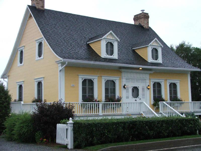 maisons typiques du Quebec